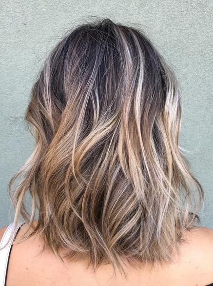 Best Hair Color Ideas 2017 2018 Ash Brunette Balayage Highlights