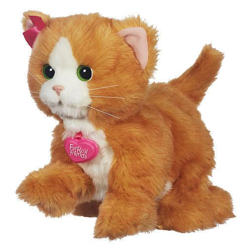 """FurReal Friends - Daisy Plays-With-Me Kitty Toy - Hasbro - Toys """"R"""" Us"""