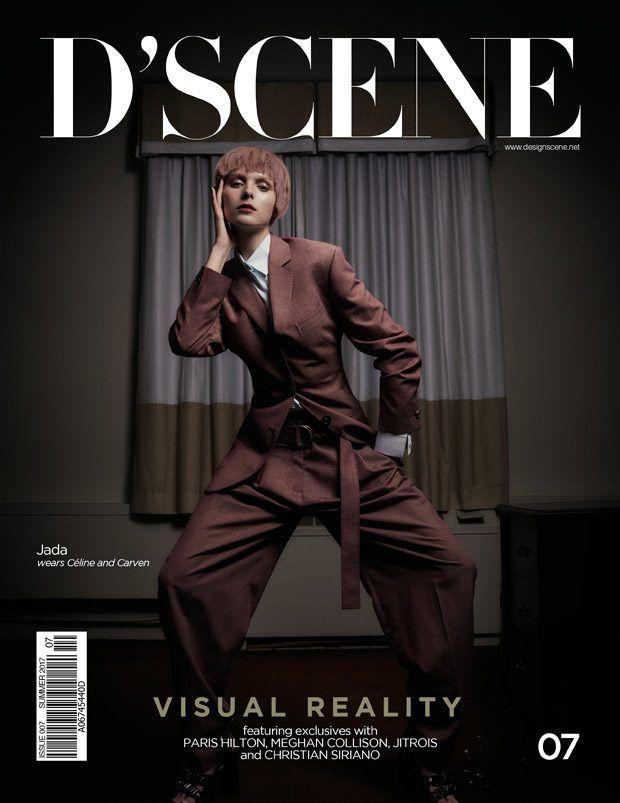 Jada Joyce Stars in Du0027SCENE Magazine Visual