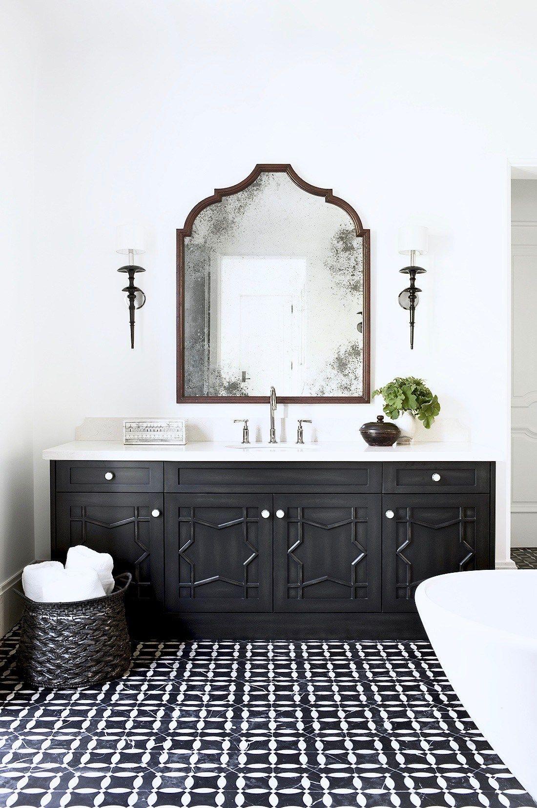 Moroccan Inspired Master Bath White Bathroom Designs Bathroom Design Inspiration Bathroom Design