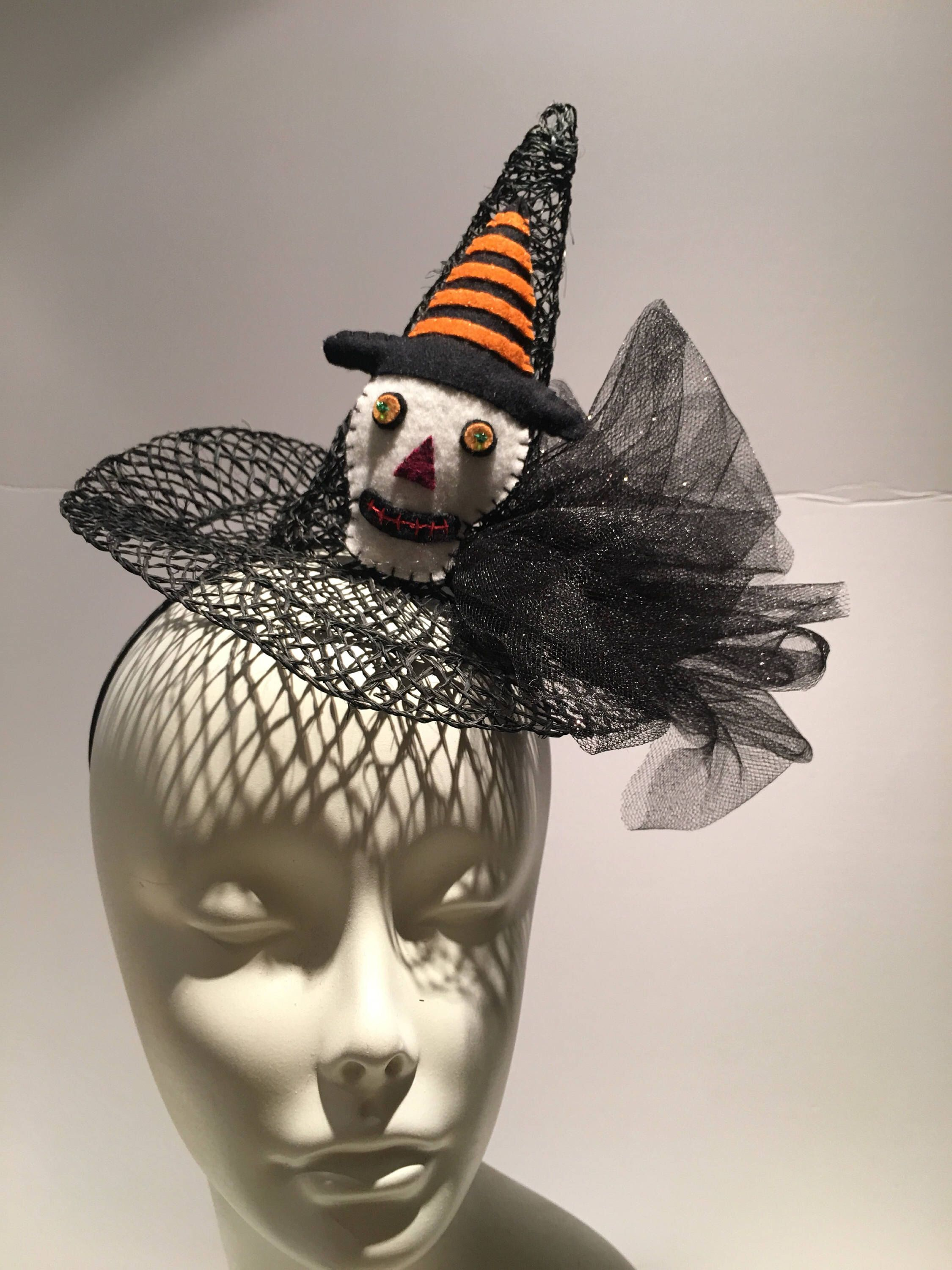 Withch Costume Witch Mini Hat Witches Mini Top Hat Magic Mini Hat Halloween Hat Goth Wicked Witch Hat Mini Top Hat Halloween Costume