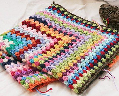 Cómo hacer una manta de ganchillo fácil paso a paso | Baby Crochet ...