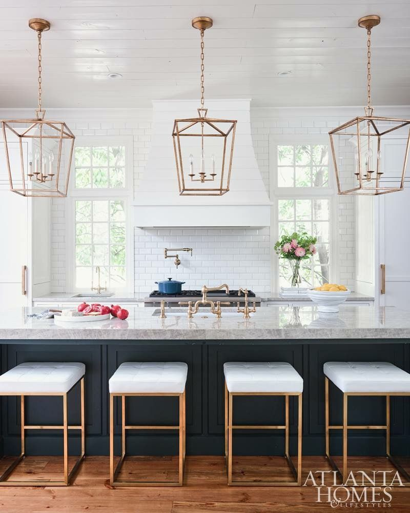 Navy Island And Lighting Kitchenarquitecture Home Decor Kitchen