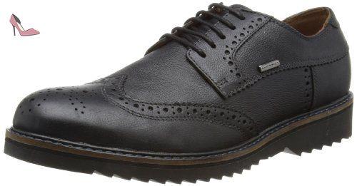 U Hampstead D, Chaussures de ville homme - Marron (Cognac), 44 EUGeox