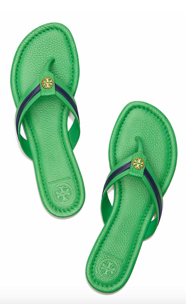 39a7f8599 Tory Burch Maritime Thong Sandal   Beach Getaway   Sandals, Shoes ...