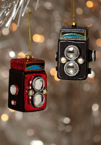 Camera Ornaments