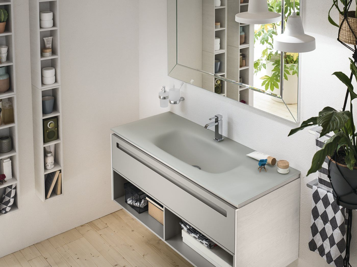 Inda Bath Furniture Progetto Collection Bathrooms Pinterest