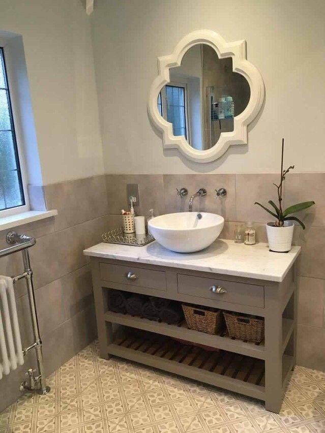 Marble Granite Quartz Bespoke Vanity Unit Bathroom