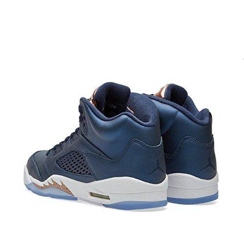 14af1dd81d0a Size 7 Youth Nike Bronze Air Jordan 5 Retro BG 440888 416 Athletic Sneakers  --