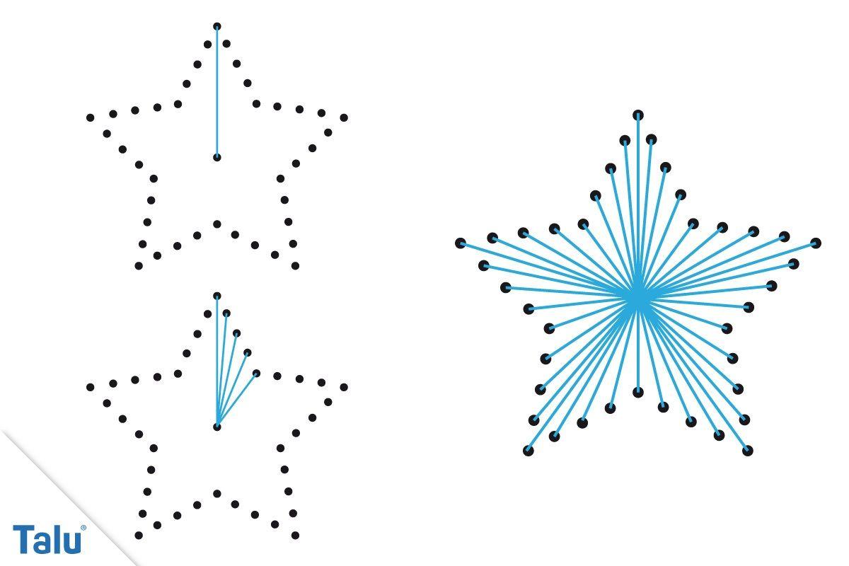 Fadengrafik Anleitung Kostenlose Vorlagen Zum