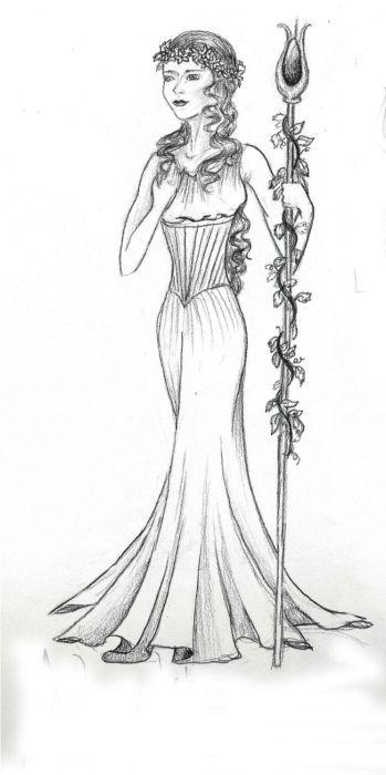 Aphrodite Greek Goddess Drawings Sketch Coloring Page Greek Goddess Drawings Aphrodite