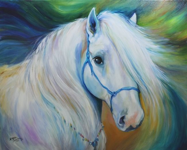 Maddie the angel horse by marcia baldwin