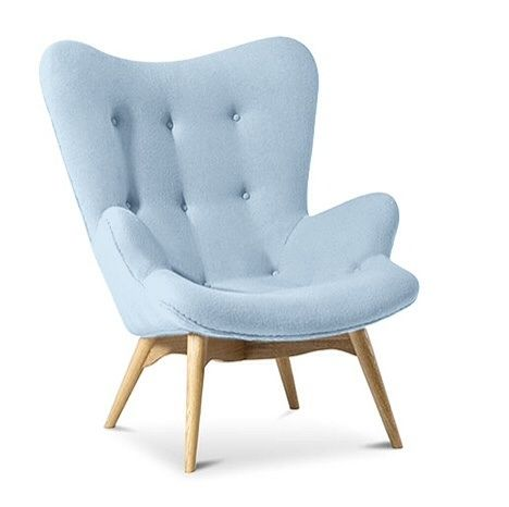 Light Blue Armchair, Light Blue Furniture