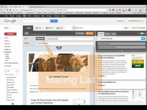 Create Attractive Newsletter Emails With Flashissue Free Create Email Edutech Edtech