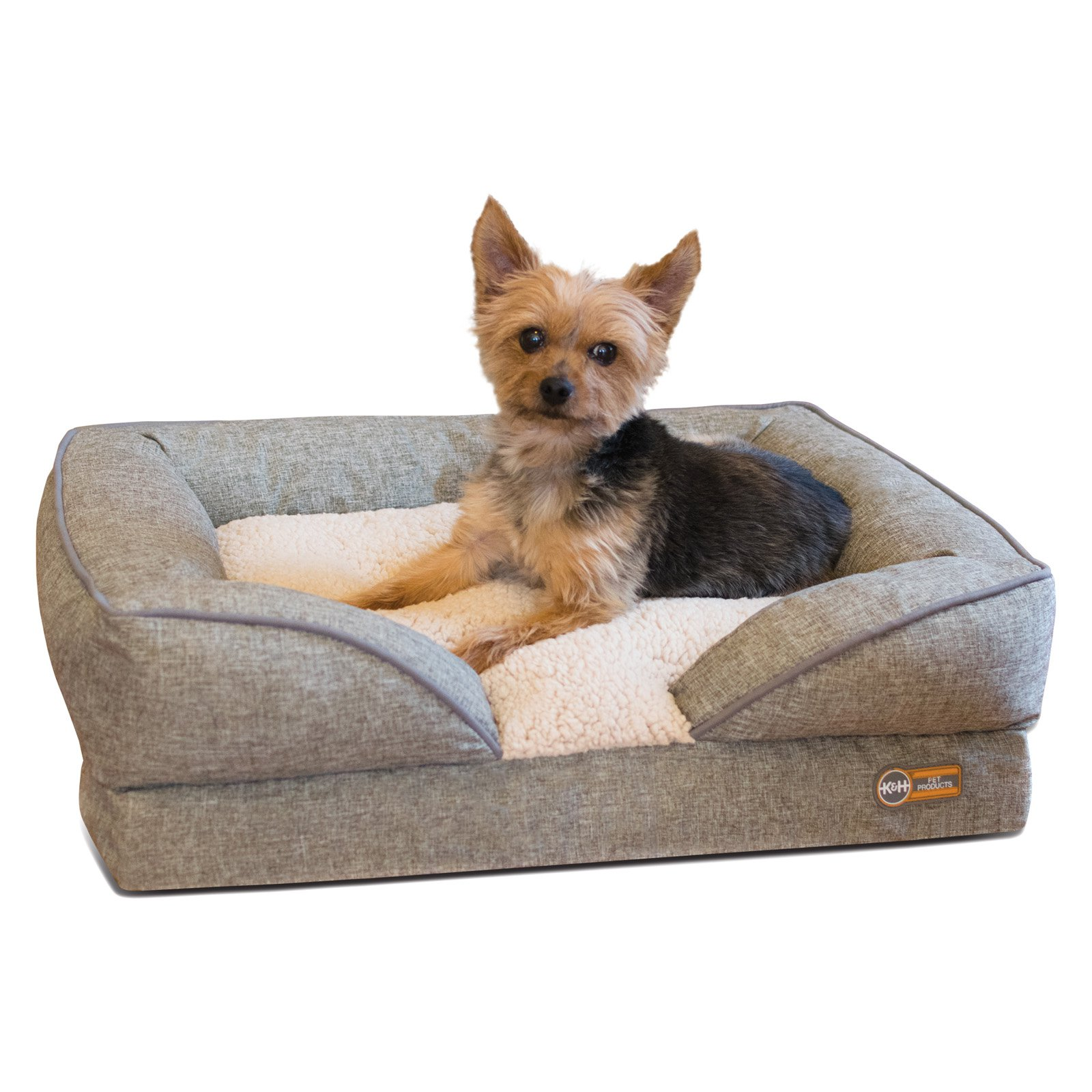 K H Pet Products Pillow Top Orthopedic Lounger Dog Bed