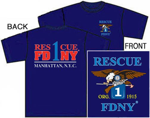 f59adabad Officially Licensed FDNY Rescue 1 t-shirt. Only at NYC's Original Firestore  www.nyfirestore.com & Facebook.com/firestore