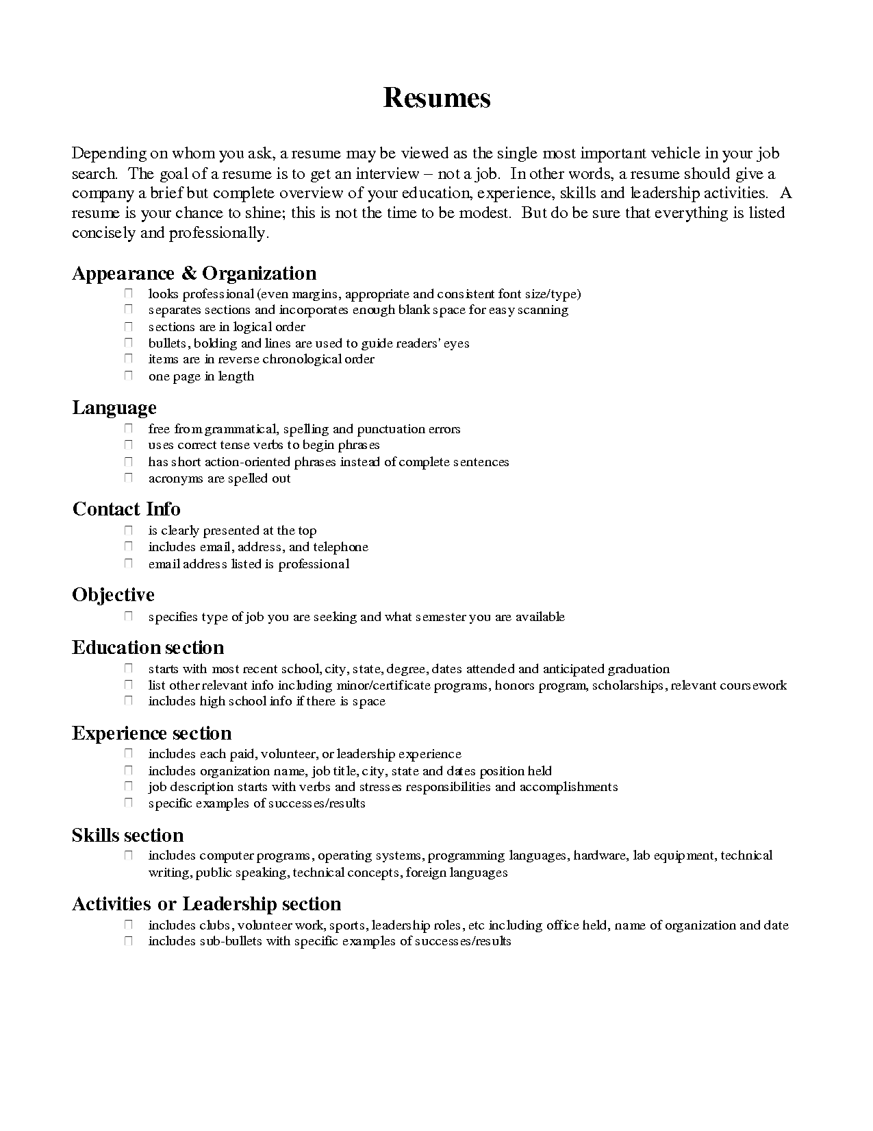 Example Of A Professional Resume Resume Body Format Cover Letters Sdsu Best Ideas About Free Sample