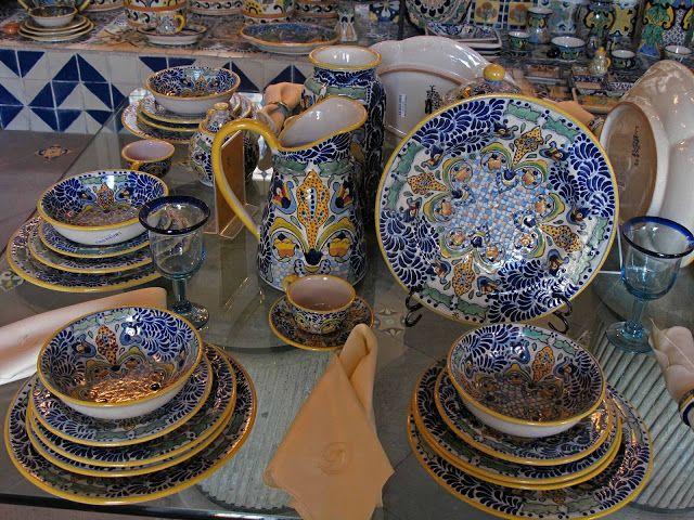 I want an entire Talavera dinnerware set. & I want an entire Talavera dinnerware set...!! | ArtesaniasMexicanas ...