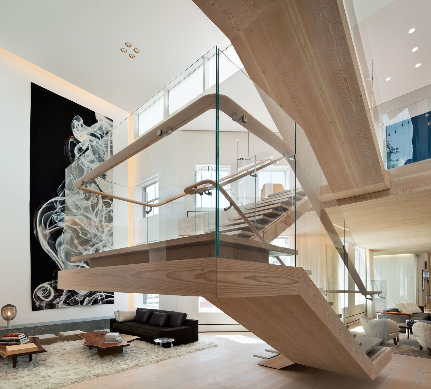 Soho Loft   Gabellini Sheppard   Stairs & Railings   Pinterest