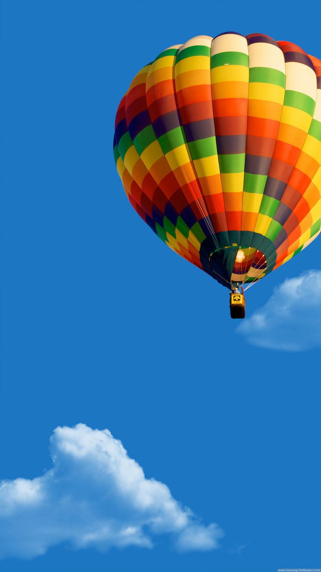 Color Hot Air Balloon Lock Screen In 2019 Air Balloon