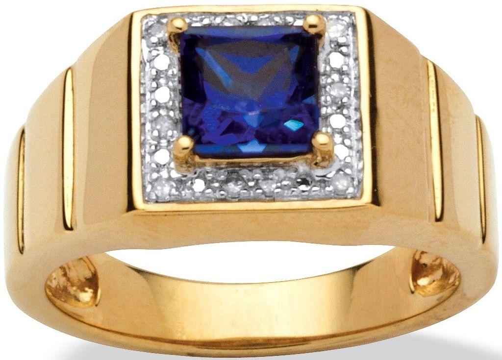 78fdfd5dbdcf Espectacular Anillo Caballero Zafiro   Diamante Envío Gratis -   6