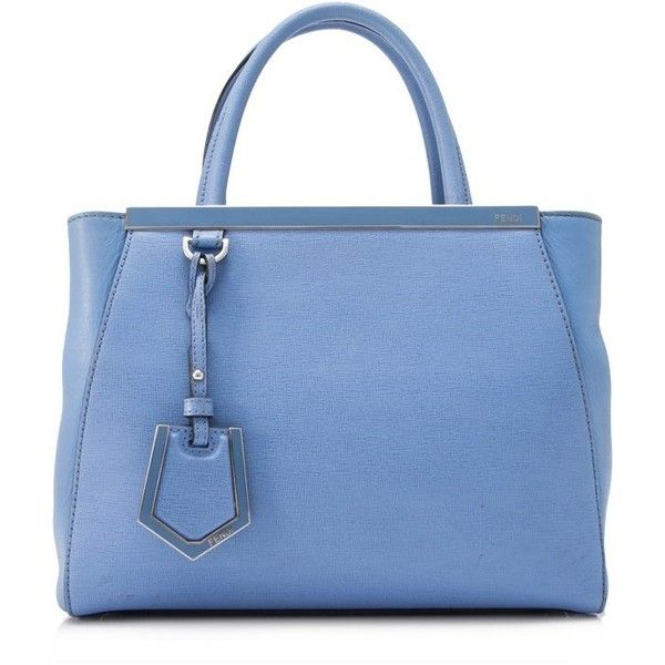 Pre-owned - 2Jours leather tote Fendi YAL9d0