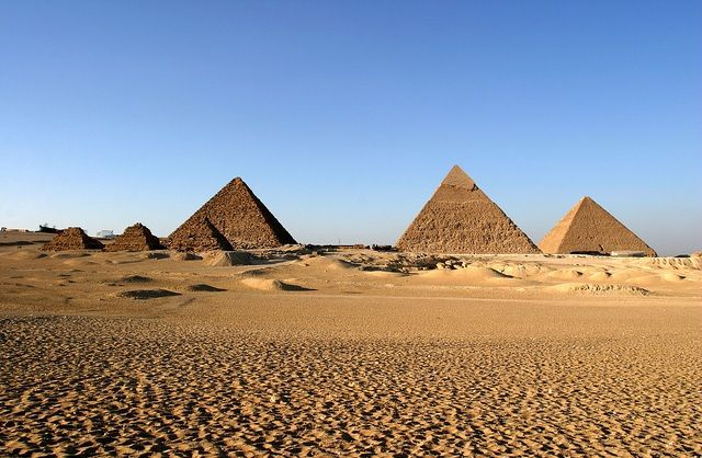 egypt pyramid uncovered | The most recent pyramid uncovered, however, is one of seven known to ...