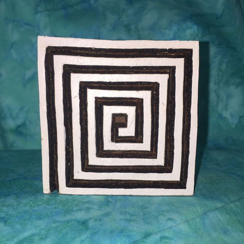 Check out the deal on WB402 Small Square Geometric Wood Block at artisticartifacts.com