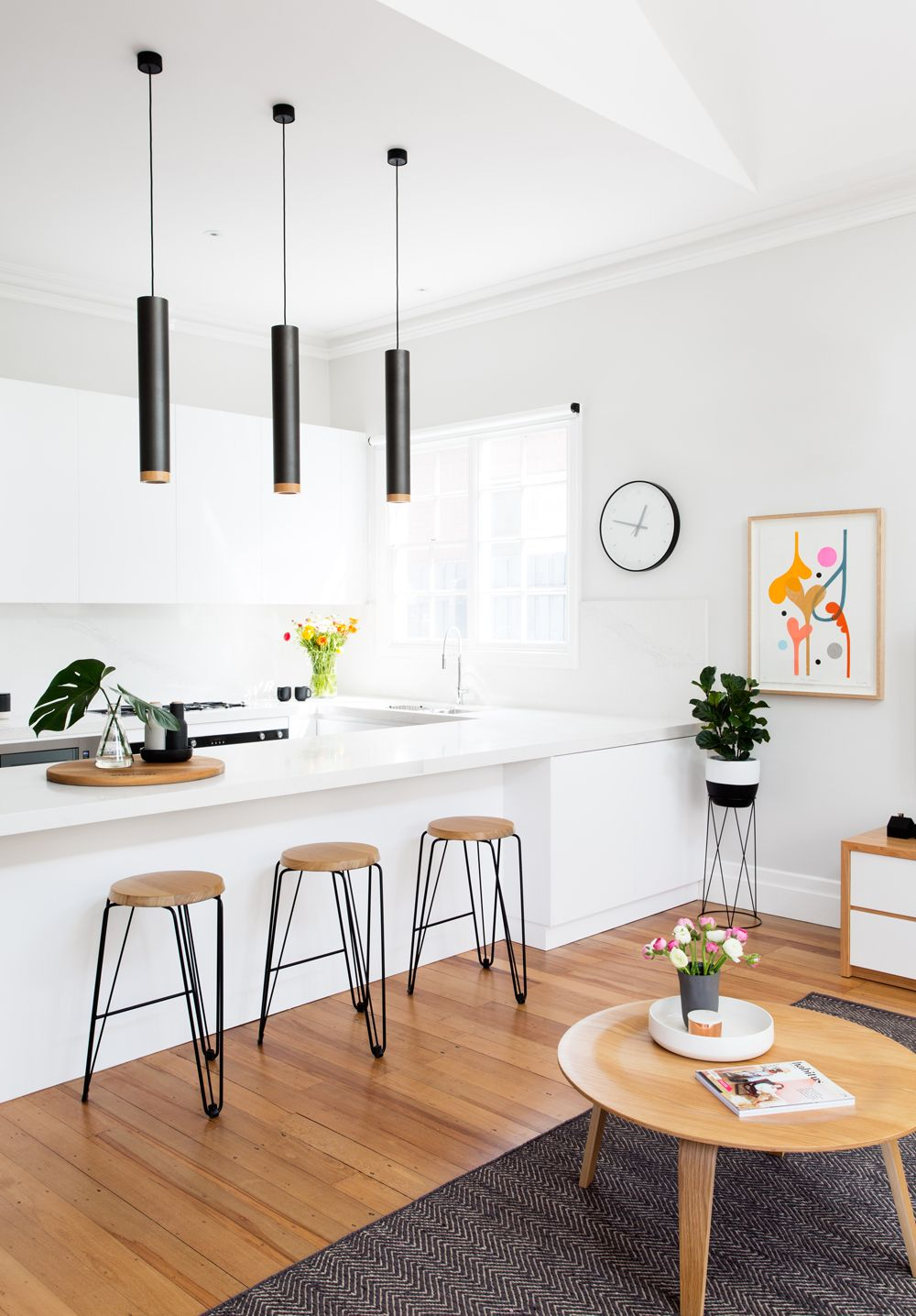 Kitchen Self Design Simple A Selfdesigned Multicolored Australian Home  Designers Design Ideas