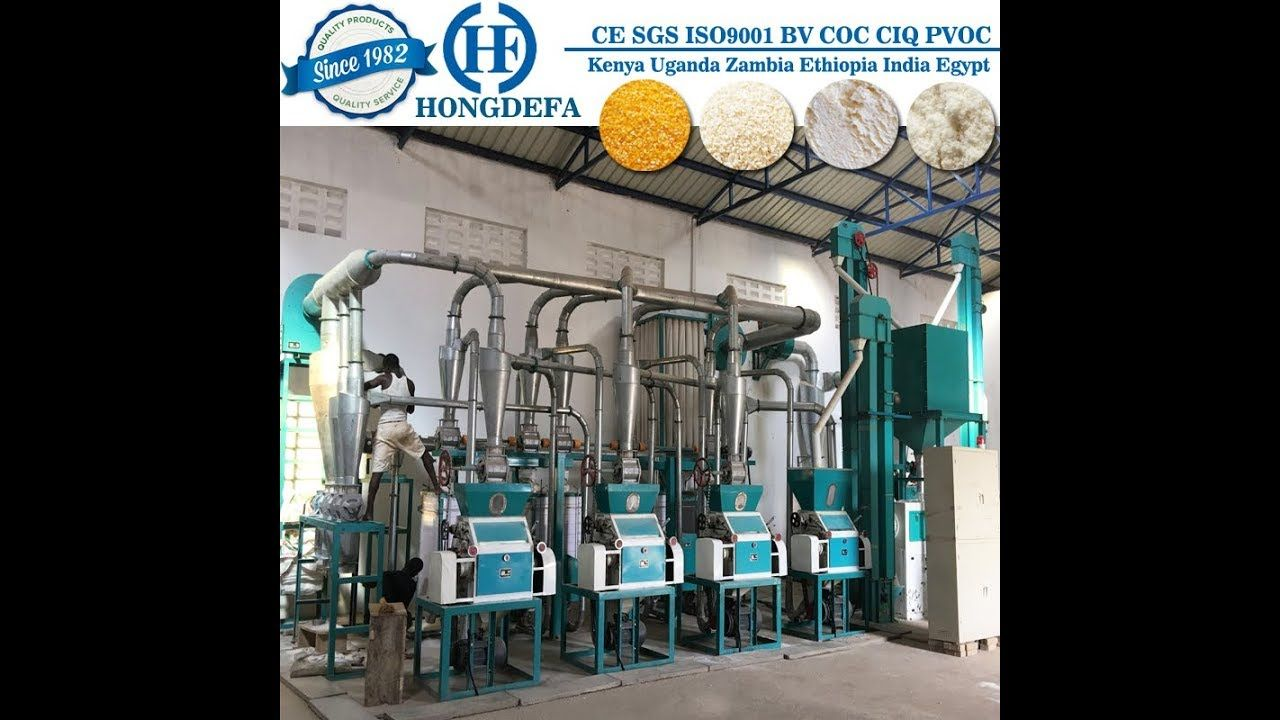 Pin by Topflourmill on Maize mill Grinding machine