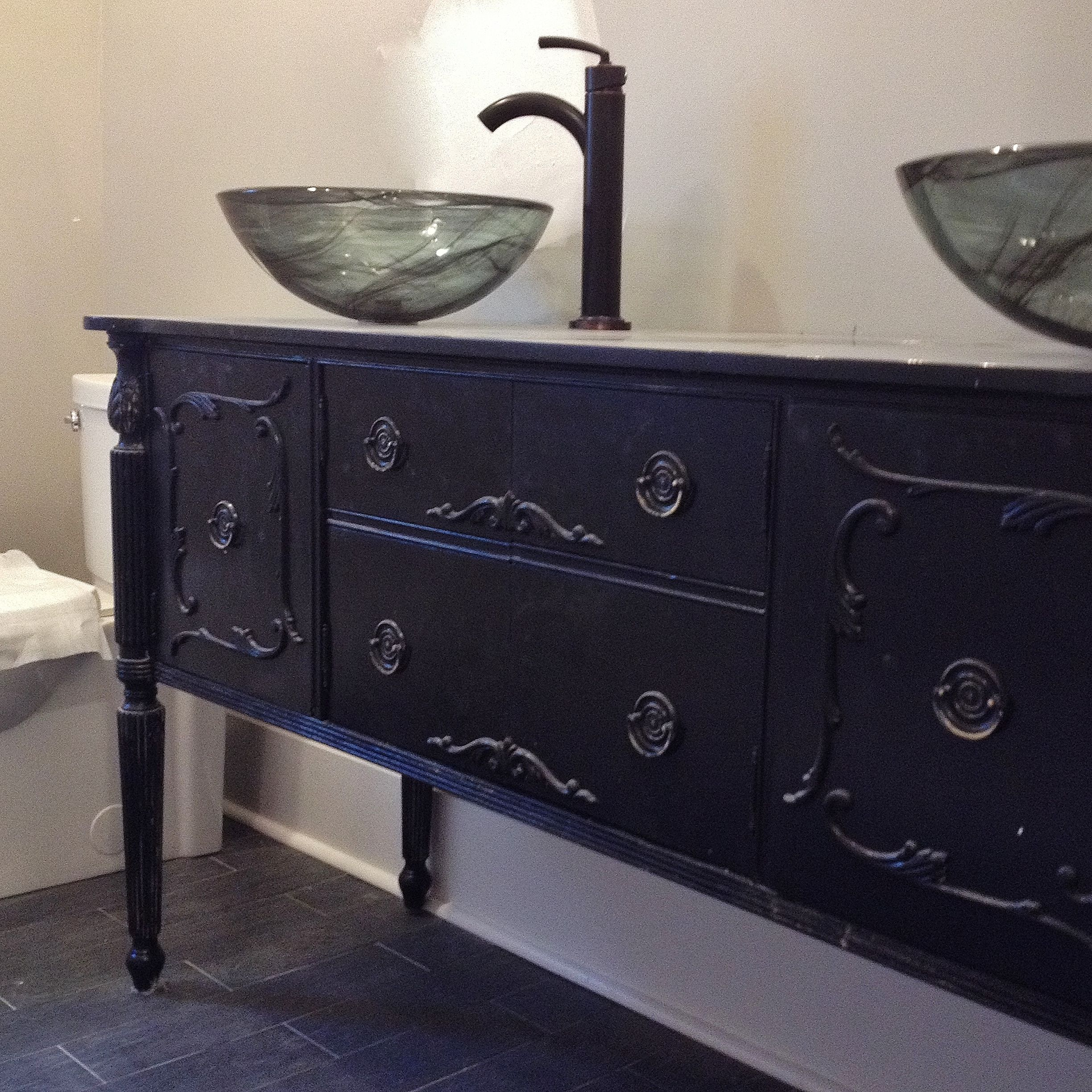 BATHROOM VANITY Double or Single Sink We Custom Convert from