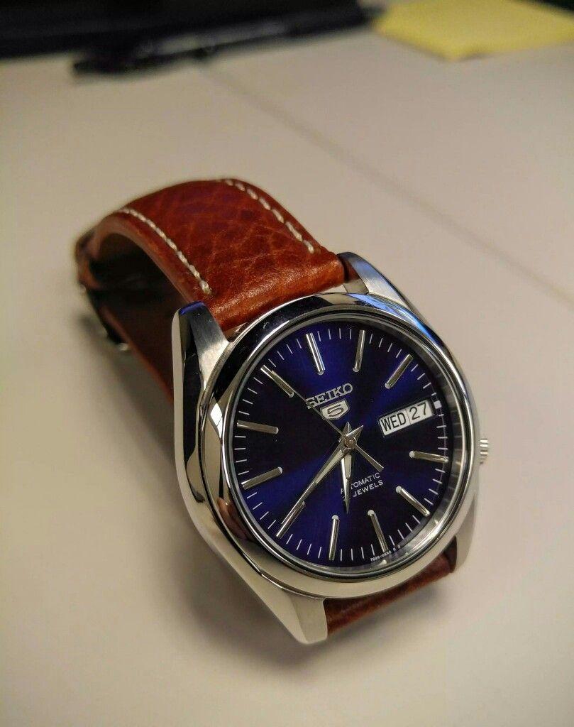 8d4237f3b1d Seiko SNKL43. Seiko SNKL43 Relógios De Luxo ...