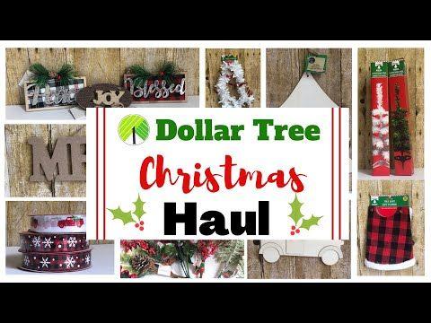 Dollar Tree Christmas Haul Christmas 2020 Youtube In 2020 Christmas Haul Dollar Tree Christmas Dollar Tree
