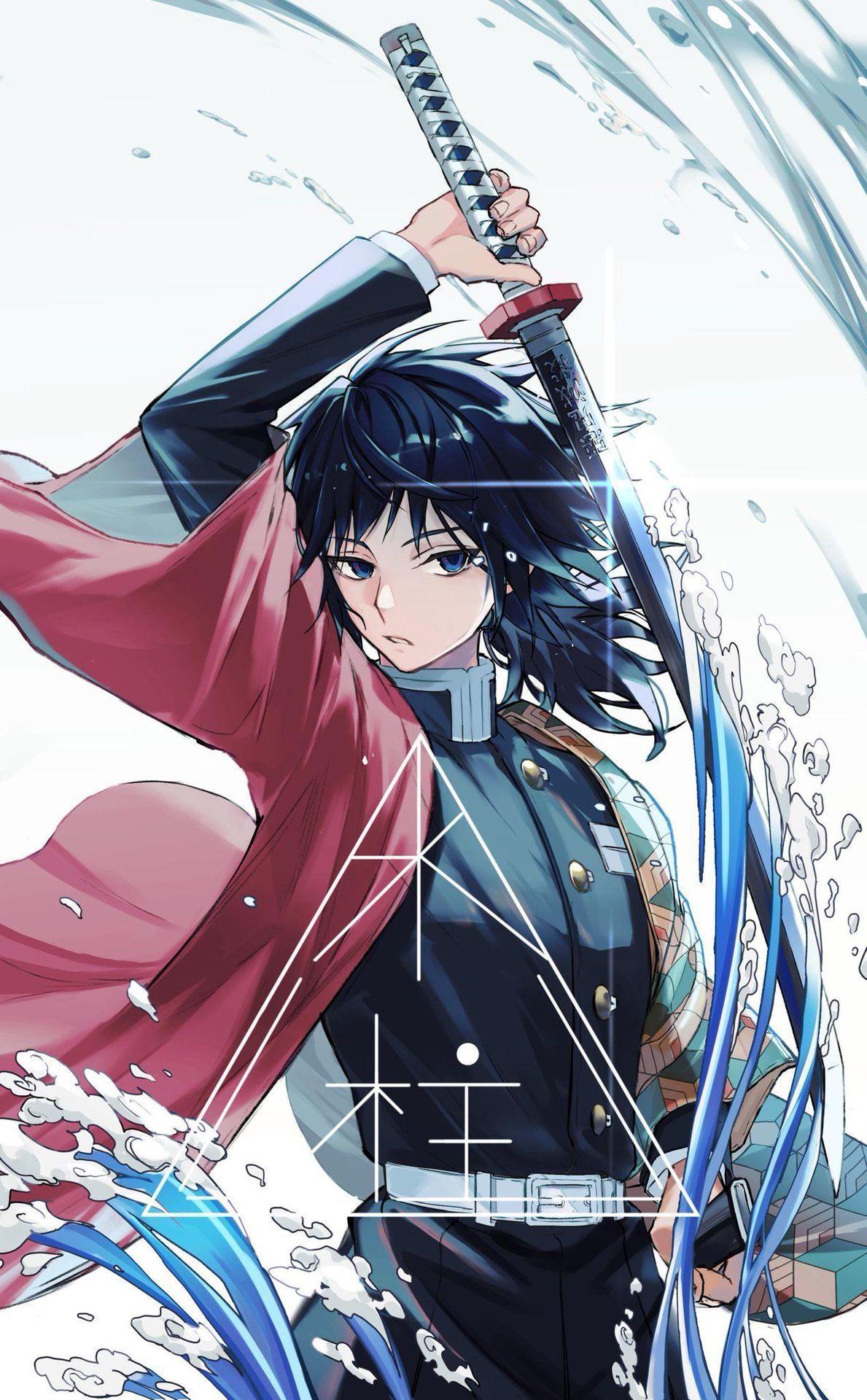 Kimetsu No Yaiba {Fashion/Genderbends/Petbends/Ships/AU} - Giyuu Tomioka {1}