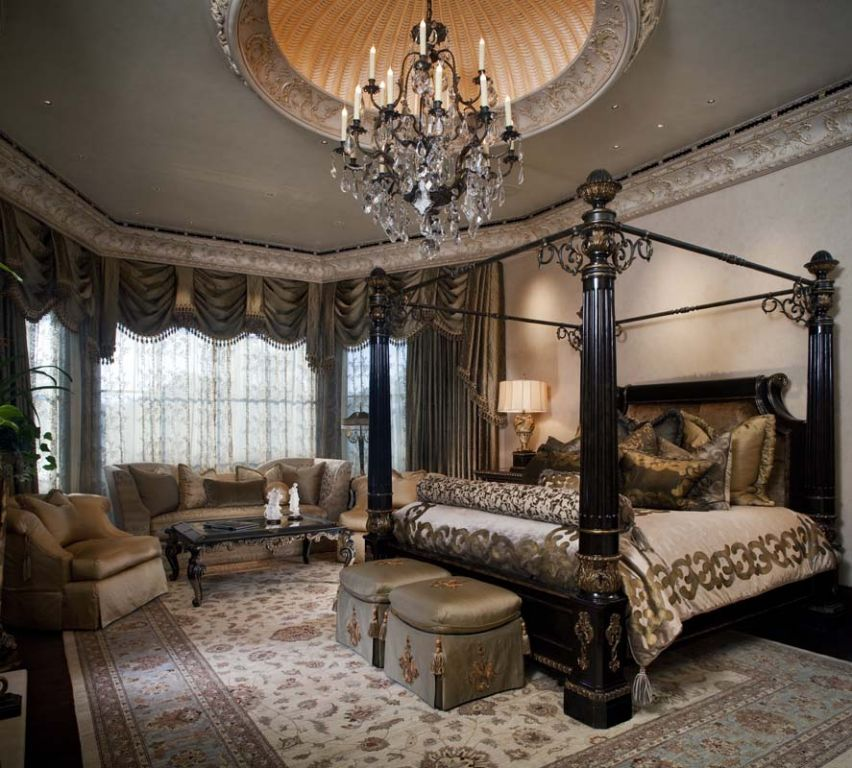 Bedroom Pretty Bedroom Design By California King Storage: Old World Bedroom, Elegant Bedroom