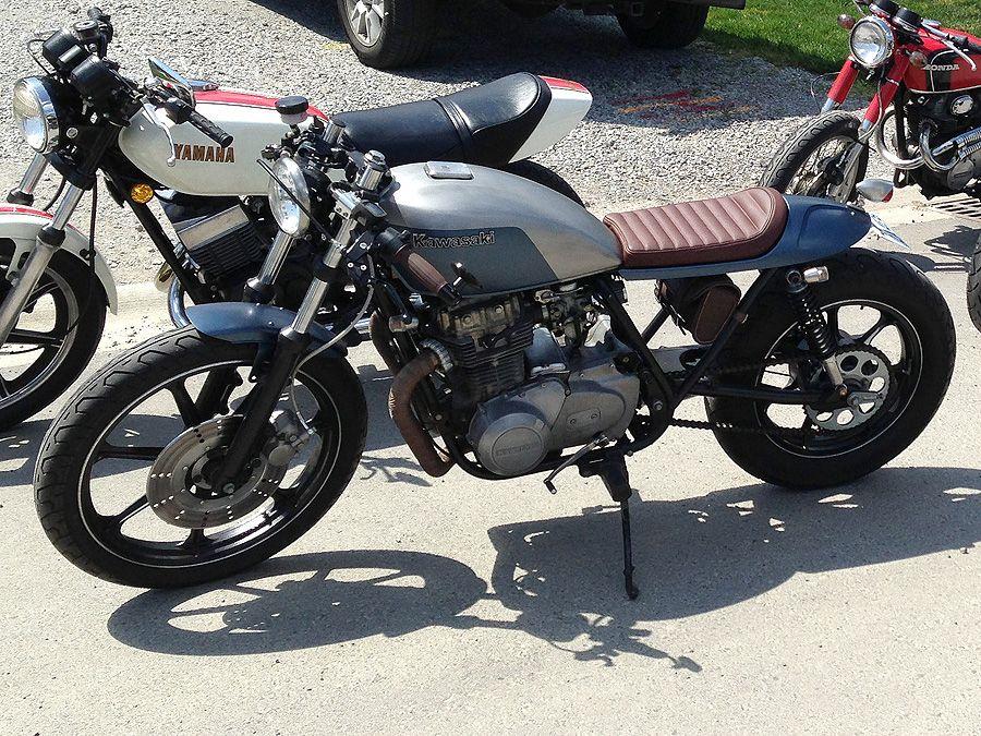 1979 kawasaki kz400 kz 440 ltd custom cafe racer bikes. Black Bedroom Furniture Sets. Home Design Ideas