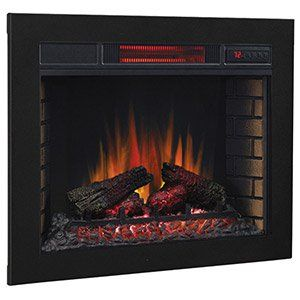 electric fireplace inserts built in electric fireplaces electric rh pinterest com