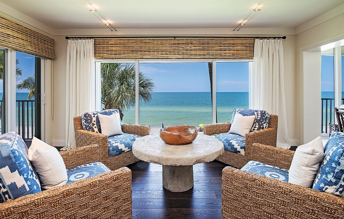 I\'m so in love with this Gulf front condo designed by Bay Design ...