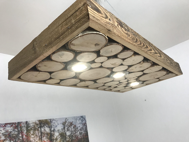 Ronde Houten Rustieke Lamp 80 Cm 160 Cm Wood Ceiling Lamp Hanging Lamp Diy Wood