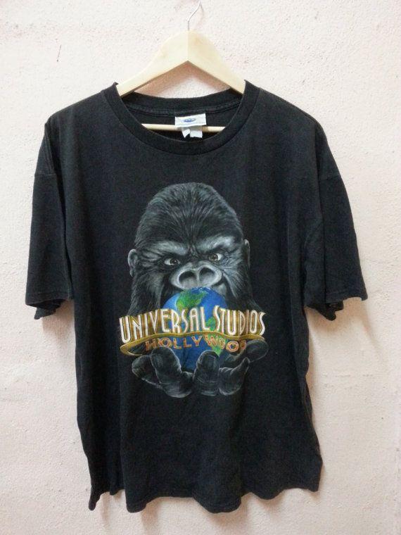 Vintage King Kong Universal Studios Hollywood camiseta película / Film