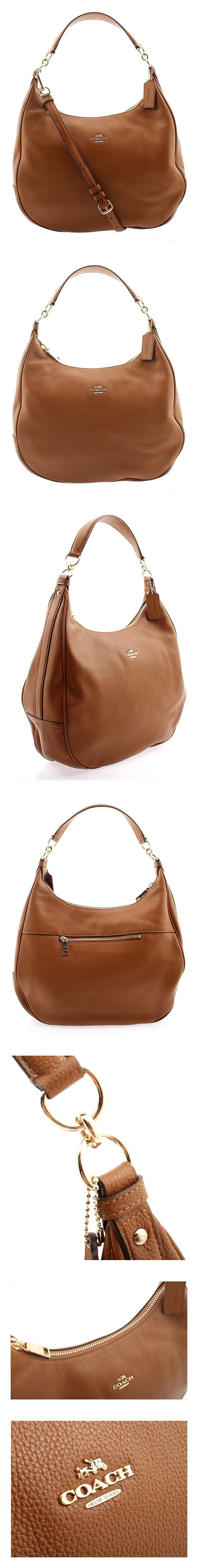94ff611f2c  183.99 - Coach Harley Hobo in Pebble Leather