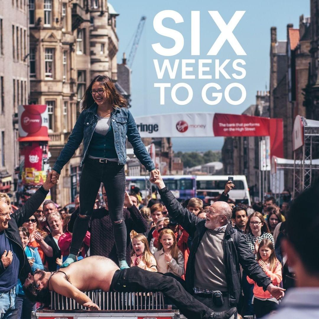 "Edinburgh Festival Fringe on Instagram: ""Six weeks to go!⠀ .⠀ 📸- David Monteith-Hodge⠀ .⠀ #MakeYourFringe #edfringe #ThisIsEdinburgh #FestivalCity"""