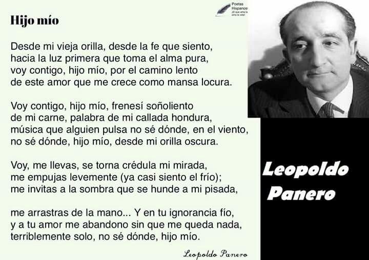 Leopoldo Panero España Poemas Viejitos Los Mejores Poemas