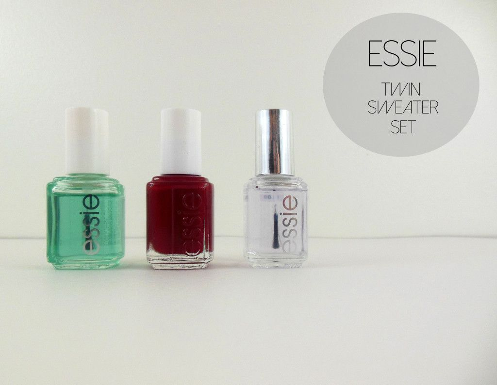 Manicure Minute|Essie Twin Sweater Set | Perfectly Polished. | Pinterest