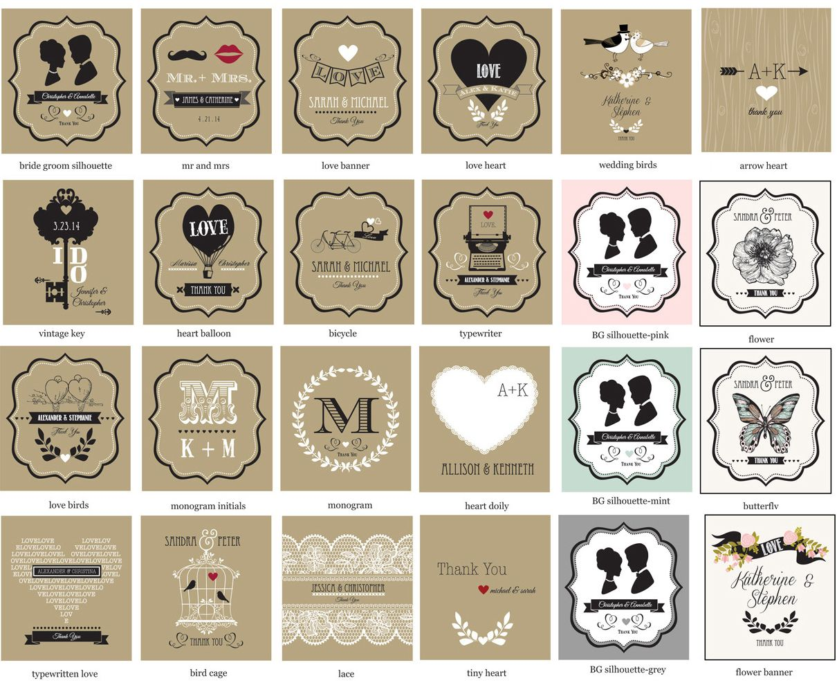Vintage Wedding Personalized Playing Cards | Personalized playing ...