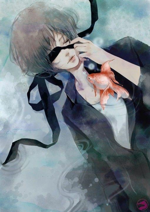 Fishy!!!!! :O #anime #boy