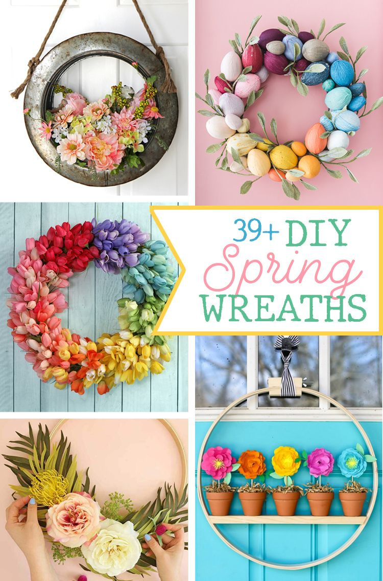39 Gorgeous Spring Wreath Ideas The Craft Patch In 2020 Diy Spring Wreath Spring Diy Spring Wreath