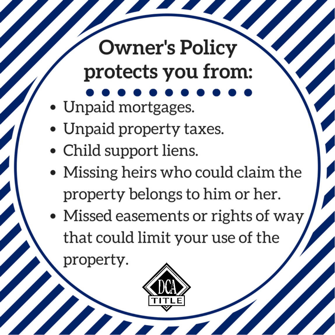 Owner S Policy Protection Titleinsurance Dcatitle Title
