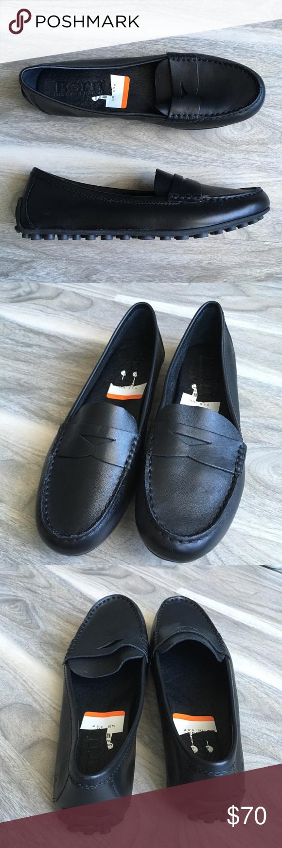 32da61b7b95 Born Malena black leather loafers 6.5 nwt Born Malena black leather loafers  6.5 nwt. Gorgeous ! Super comfortable