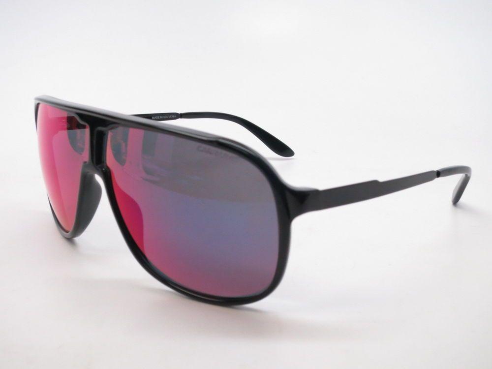 9971b79f4a Carrera New Safari F3IMI Black Red Purple Multi Mirror Sunglasses  Carrera